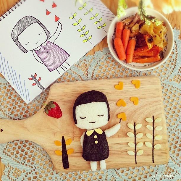 szkice-hello_kity-postacie_z_bajek-dzieci_gotuja-jedzenie_dla_dzieci-food_art-funny_food-kanapki-jako_sadzone-samantha_lee-posilek_dla_niejadka-6.jpg
