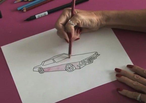 Jak Narysowac Auto Lamborghini Gallardo Nauka Rysowania Rysowanie